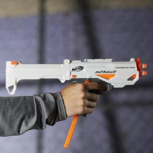 Lançador Nerf Modulus Blaster  Barrelstrike - Hasbro  - Doce Diversão