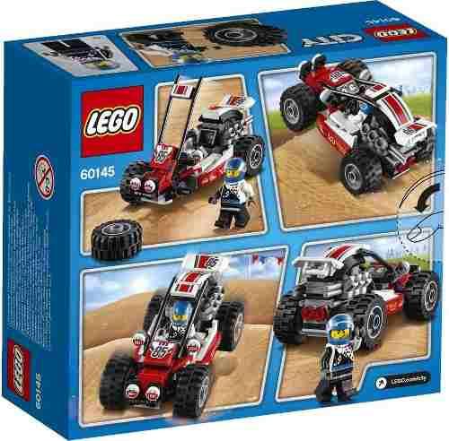 Lego 60145 - City – Buggy com piloto - 81 peças  - Doce Diversão