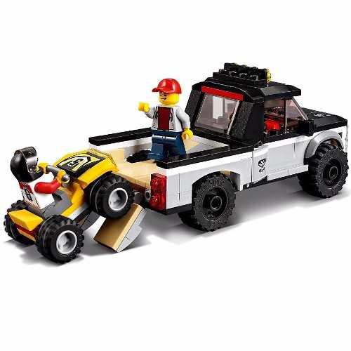 Lego 60148 - City - Equipe de Corrida de Veículos  Off-Road - 239 pç  - Doce Diversão