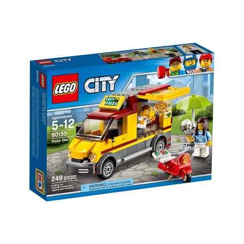 Lego 60150 - City - Van de Entrega de Pizzas  - 249 Peças  - Doce Diversão