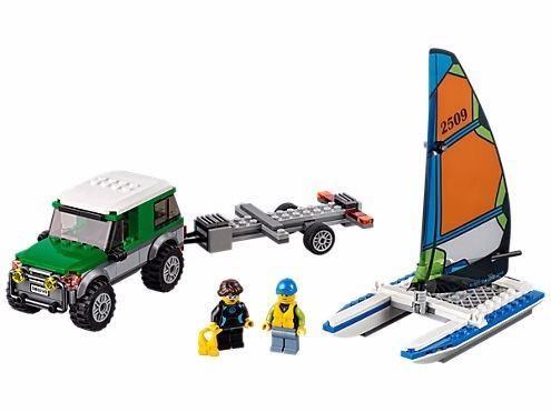 Lego 60149 - City – Jipe 4x4 com Catamarã  - 198 Peças  - Doce Diversão