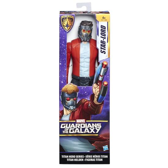 Boneco Guardiões da Galáxia Titan Hero  Star Lord  30 cm - Hasbro  - Doce Diversão