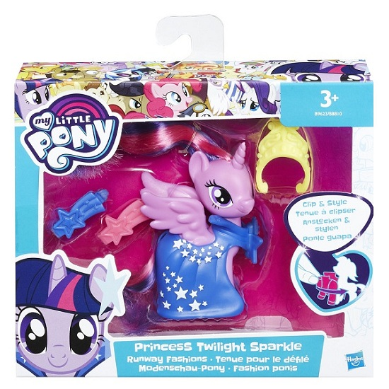 My Little Pony Pônei  Fashionista  Princesa Twilight Sparkle Hasbro - Doce Diversão
