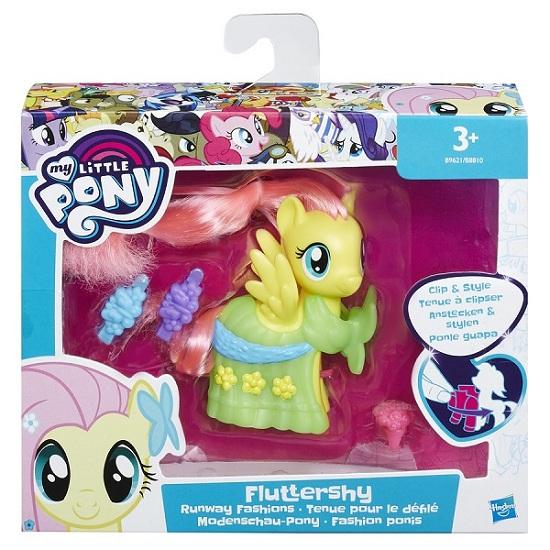 My Little Pony Pônei  Fashionista  Princesa Fluttershy Hasbro  - Doce Diversão