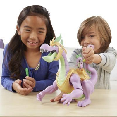 My Little Pony Spike O Dragão Guardião Eletrônico 33cm - Hasbro   - Doce Diversão