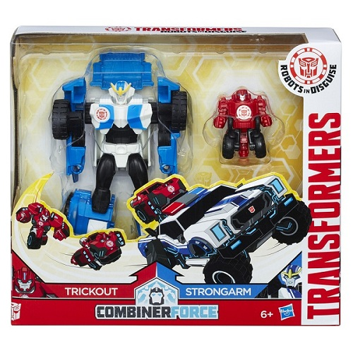 Transformers Indisguise Combiner Force Trickout + Strongarm - Hasbro  - Doce Diversão