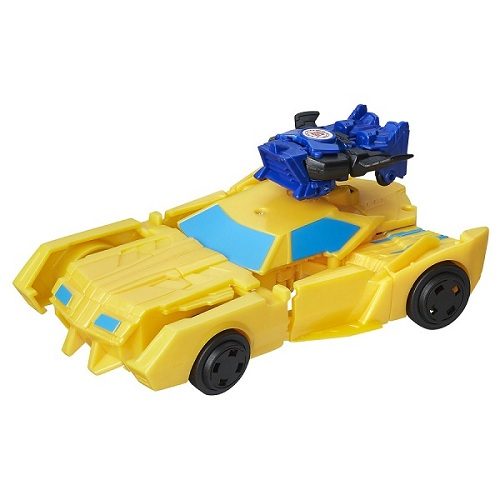 Transformers Indisguise Combiner Force Stuntwing + Bumblebee - Hasbro  - Doce Diversão