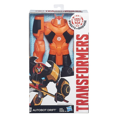Transformers Indisguise Titan Autobot Drift  30 cm - Hasbro  - Doce Diversão