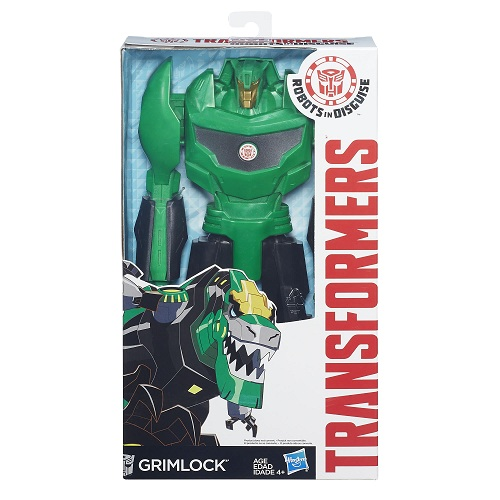 Transformers Indisguise Titan Autobot Grimlock  30 cm - Hasbro  - Doce Diversão