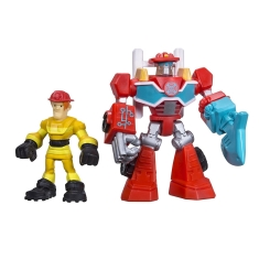 Playskool Transformers  Rescue Bots Heatwave & Kade - Hasbro  - Doce Diversão