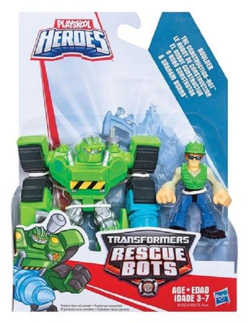 Playskool Transformers  Rescue Bots Boulder & Graham - Hasbro  - Doce Diversão