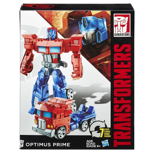 Transformers  Generations Cyber Optimus Prime 17cm - Hasbro  - Doce Diversão