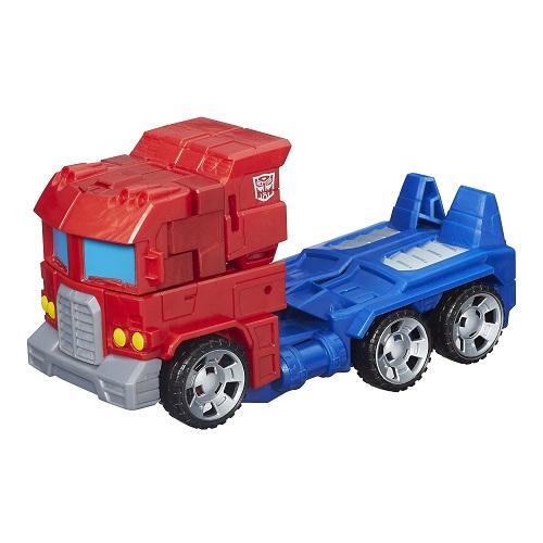 Transformers  Generations Cyber Optimus Prime 17cm - Hasbro  - Doce Diversão