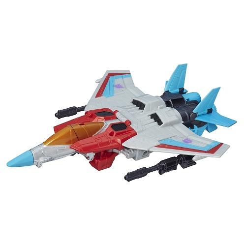 Transformers  Generations Cyber Starscream 17cm - Hasbro  - Doce Diversão