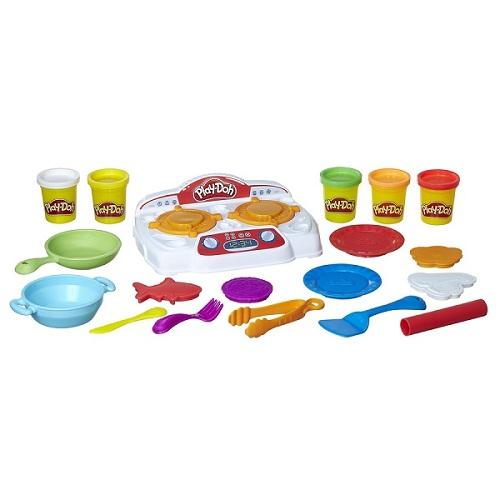 Massinha Play Doh Comidinhas no Fogão com som  - Hasbro  - Doce Diversão