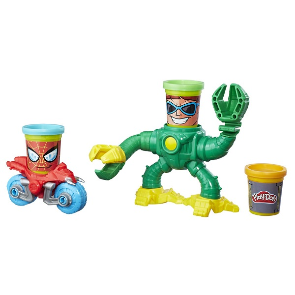 Massinha Play Doh Playset Spider Man X  Dr Octopus - Hasbro  - Doce Diversão