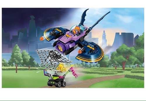 Lego 41230 – Super Hero Girls – A perseguição em Batjet de Batgirl -206 pç  - Doce Diversão