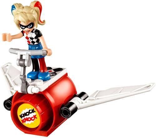 Lego 41231 – Super Hero Girls – Harley Quinn/ Arlequina Missão de Resgate  -217 pç  - Doce Diversão