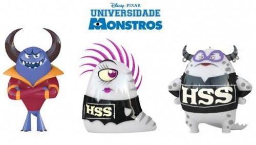 Ovo Surpresa Universidade Monstros Sa Dtc C/ 18 Unidades  - Doce Diversão