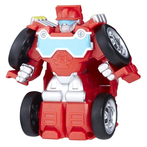 Playskool Transformers Rescue  Flip Racers  Heatwave - Hasbro  - Doce Diversão