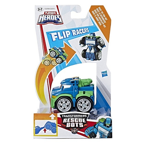 Playskool Transformers Rescue  Flip Racers Hoist Guincho - Hasbro  - Doce Diversão