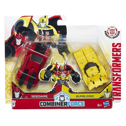 Transformers Crash Combiner Force Bumblebee e Sideswipe  - Hasbro  - Doce Diversão