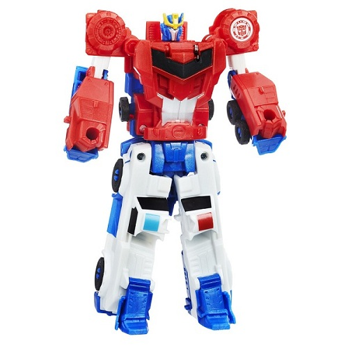 Transformers Crash Combiner Force Strongarm e Optimus Prime  - Hasbro  - Doce Diversão