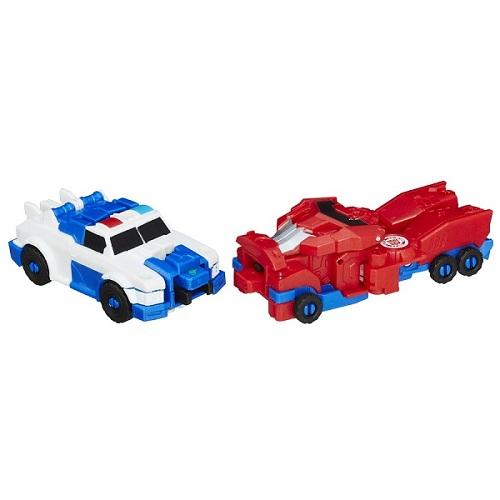 Transformers Crash Combiner Force Strongarm e Optimus Prime  - Hasbro  - Doce Diversão