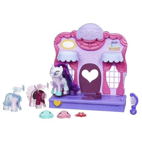 My Little Pony Boutique de Moda  Rarity Clip e Style- Hasbro  - Doce Diversão