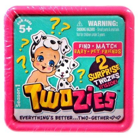Twozies Display Nicho - 30 Bebês + 30 Pets - Dtc  - Doce Diversão