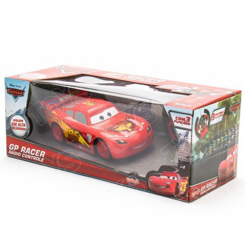 Mcqueen Carros Disney Rádio Controle 3 funções - Toyng  - Doce Diversão