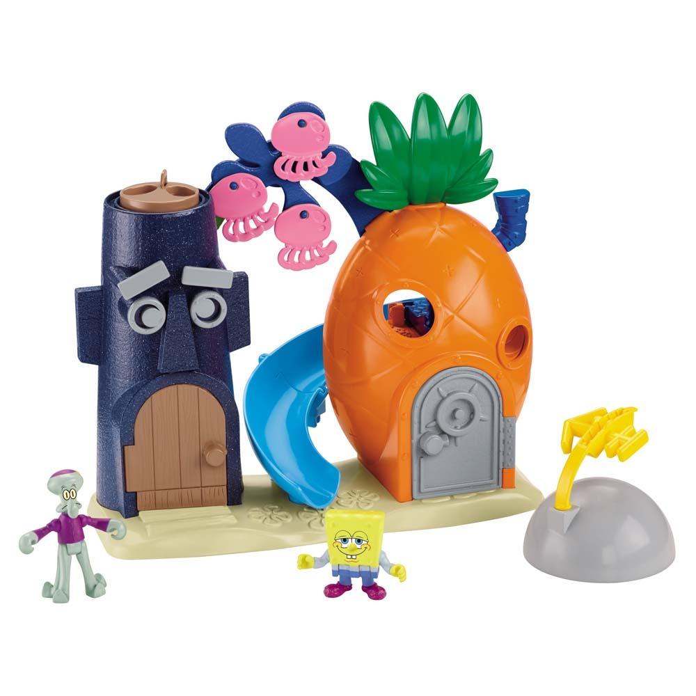 Imaginext  Bob Esponja  Casa Abacaxi – Fisher Price/Mattel  - Doce Diversão
