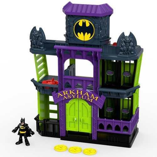 Imaginext  Batman Asilo Prisão Arkham  – Fisher Price/Mattel  - Doce Diversão