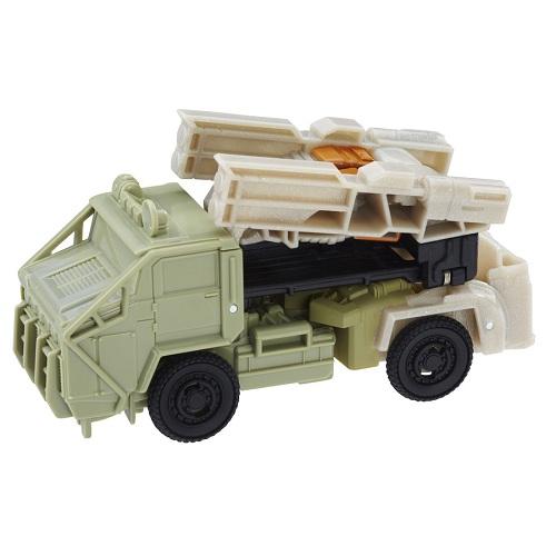 Transformers Filme 5 TurboChanger Hound  10 cm  1 passo - Hasbro  - Doce Diversão