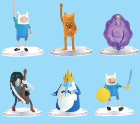Coleção Adventure Time (hora De Aventura) C/6 - Multikids  - Doce Diversão