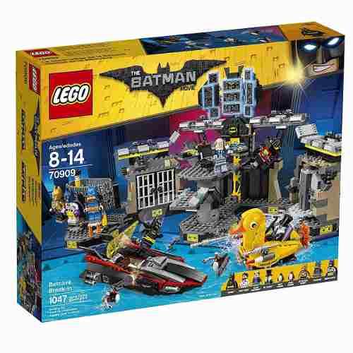 Lego 70909- Batman O Filme - Invasão a Batcaverna  - 1047 peças  - Doce Diversão