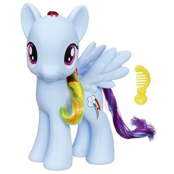 My Little Pony Princesa Rainbow Dash 20 cm - Hasbro  - Doce Diversão