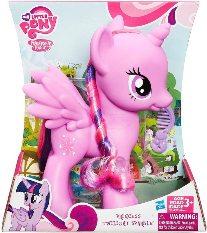 My Little Pony Princesa Twilight Sparkle 20 cm - Hasbro  - Doce Diversão