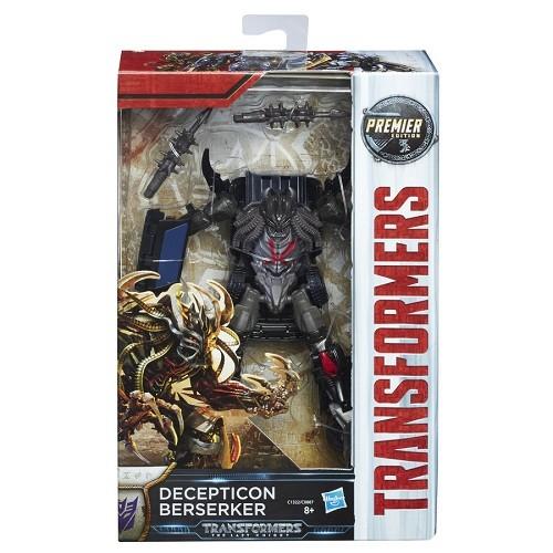 Transformers Filme 5 Deluxe Decepticon Berserker 13cm - Hasbro  - Doce Diversão