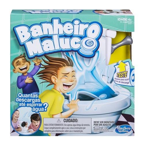 Jogo Banheiro Maluco Hasbro  - Doce Diversão