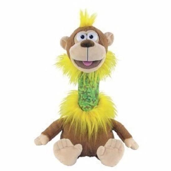 Fantoche Pet Repet Zoo - Macaco – Repete tudo que diz - Dtc  - Doce Diversão
