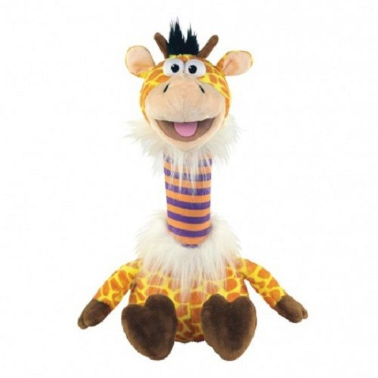 Fantoche Pet Repet Zoo - Girafa – Repete tudo que diz - Dtc  - Doce Diversão