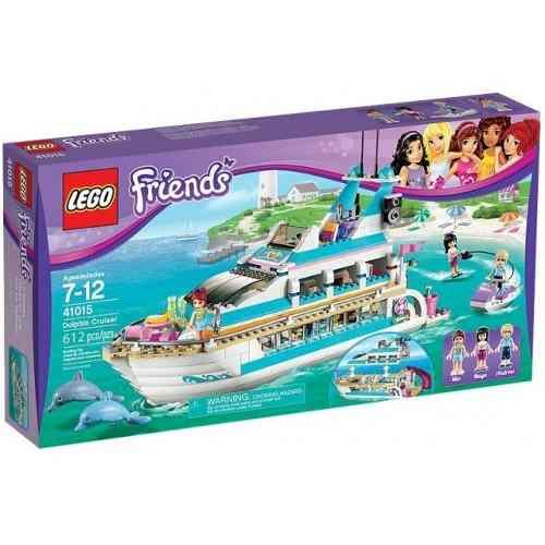 Lego 41015 - Lego Friends - Cruzeiro Com Golfinhos  - Doce Diversão