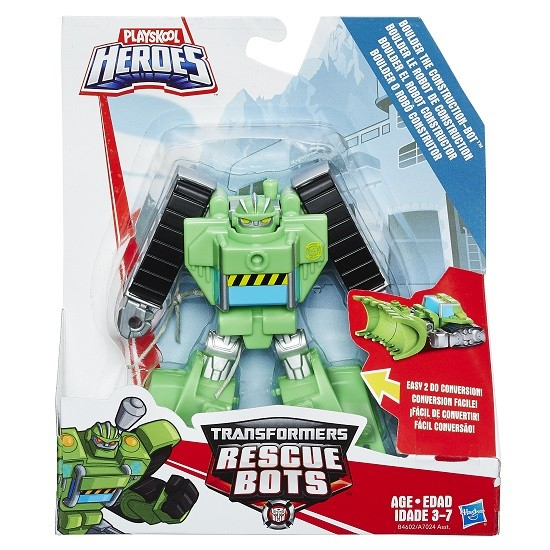 Playskool Transformers Rescue Bots Boulder 15 cm -  Hasbro  - Doce Diversão