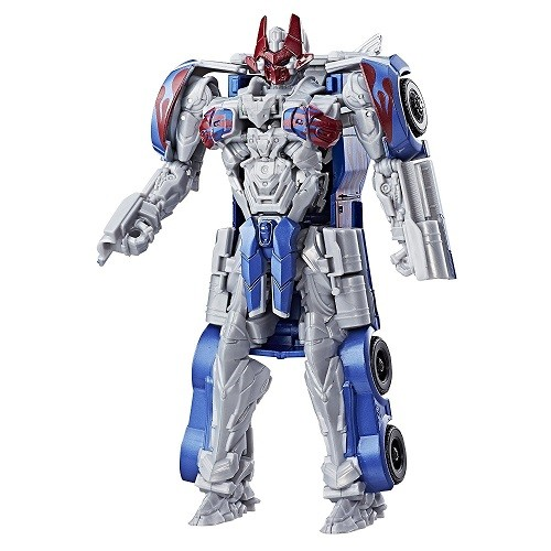 Transformers 5 Armadura de Cavaleiro Turbo Changer Optimus Prime Hasbro  - Doce Diversão