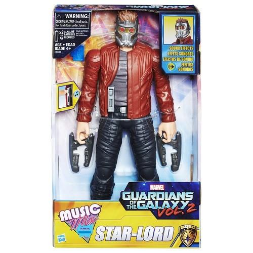 Boneco Star Lord Eletronico Guardiões da Galaxia 30cm Hasbro  - Doce Diversão