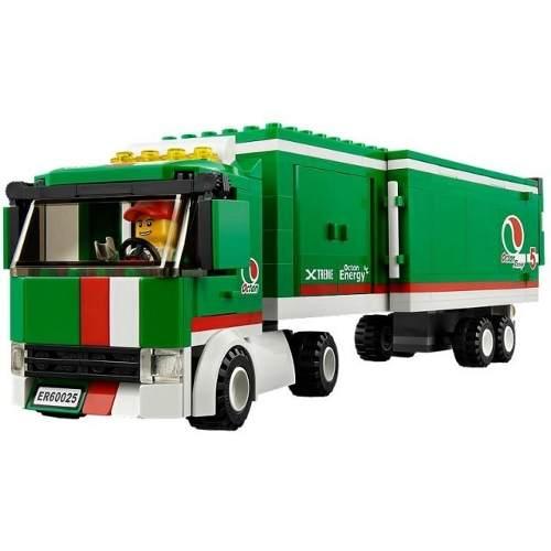 Lego 60025 - Lego City - Caminhão Do Grande Prêmio  - Doce Diversão