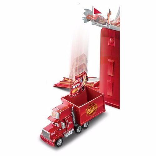 Mack Hauler Transforma - Torre De Salto P/ Mcqueen  Mattel  - Doce Diversão