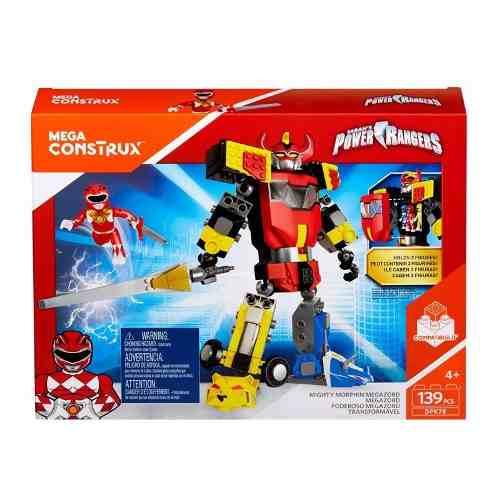 Mega Construx Power Rangers - Poderoso Megazord Tranformável Mattel  - Doce Diversão