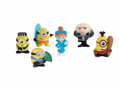 Mineez Minions  Cartela com 6 Personagens Sortidos - Dtc  - Doce Diversão